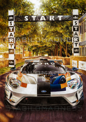 """""""LN"""" Ford GT mkII"""