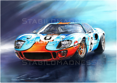 """""""LN"""" Ford GT 40"""